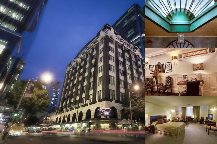 Royal Albert Hotel photo collage