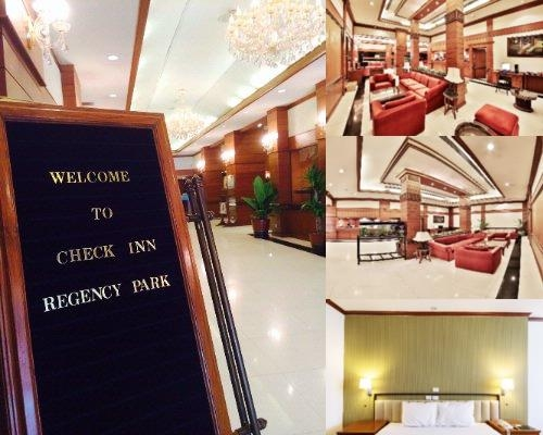 Check Inn Regency Park Hotel photo collage
