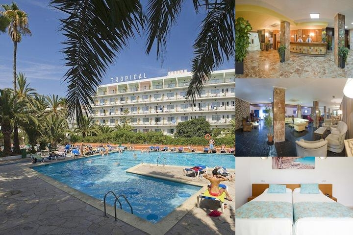 Hotel Tropical photo collage
