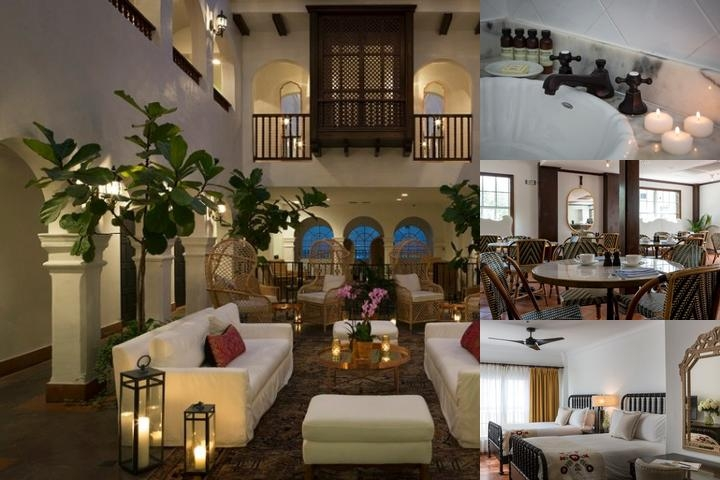 Casa Claridge Hotel photo collage