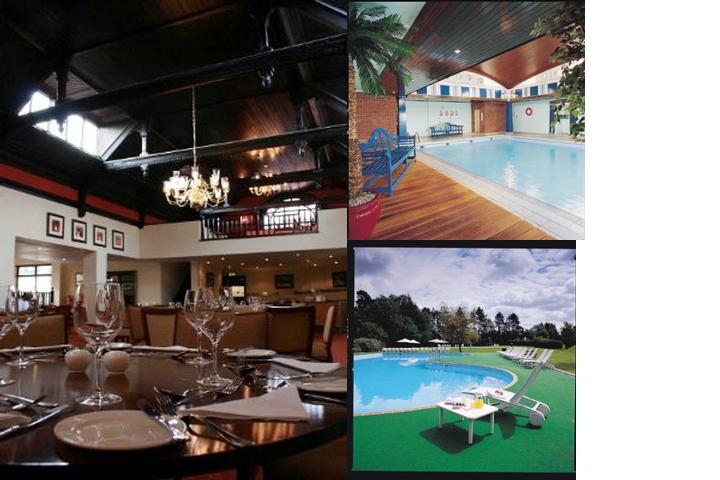 Redwood Hotel & Country Club photo collage