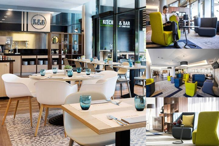 Courtyard by Marriott Toulouse Airport photo collage