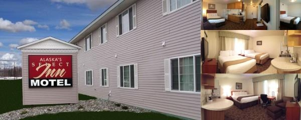 Alaska's Select Inn Wasilla photo collage