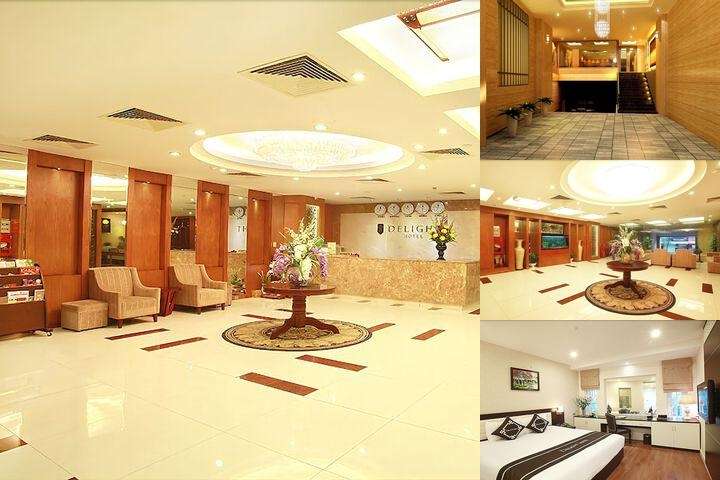 Hanoi Delight Hotel photo collage