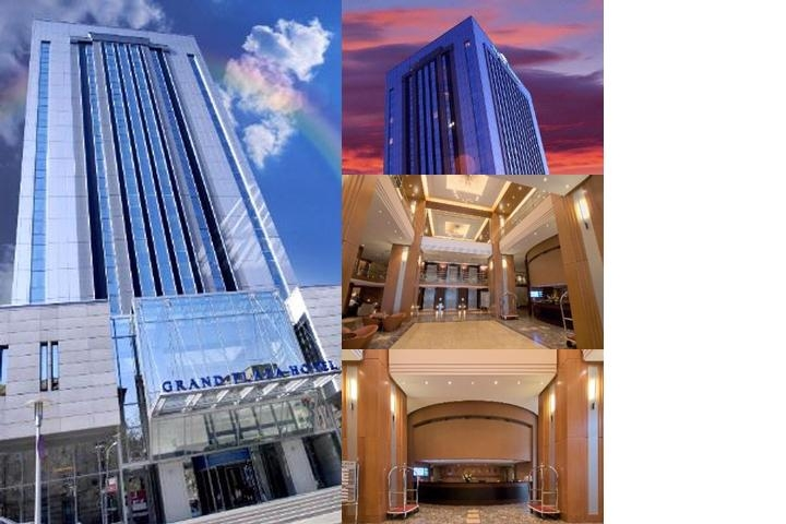 Howard Johnson Grand Plaza Hotel Bucharest Romania photo collage
