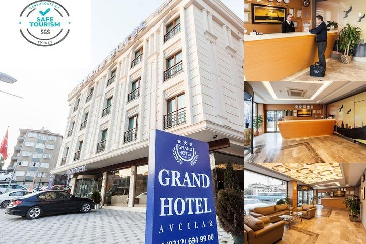 Grand Hotel Avcilar photo collage