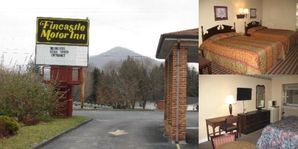 Fincastle Motor Inn Photo Collage