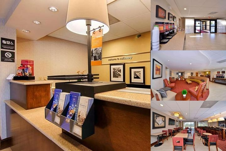 Hampton Inn Salisbury photo collage