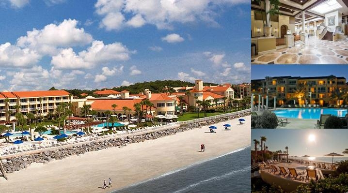 King & Prince Beach Resort photo collage