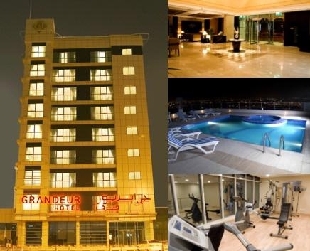Grandeur Hotel photo collage