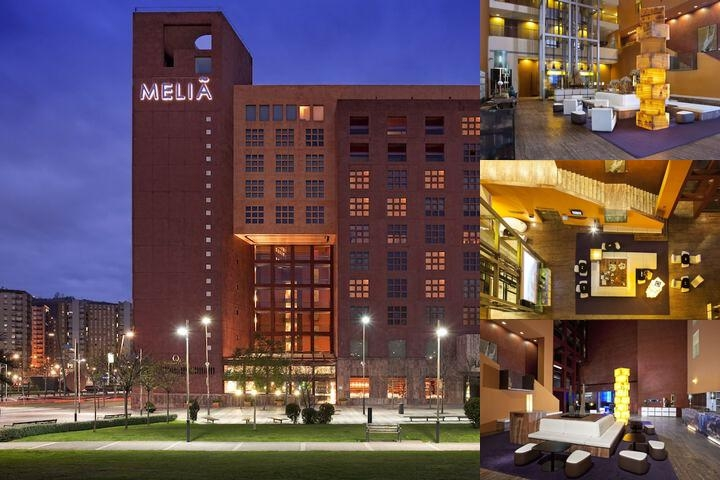 Meliá Bilbao photo collage