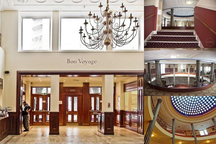 Royal Maritime Club photo collage