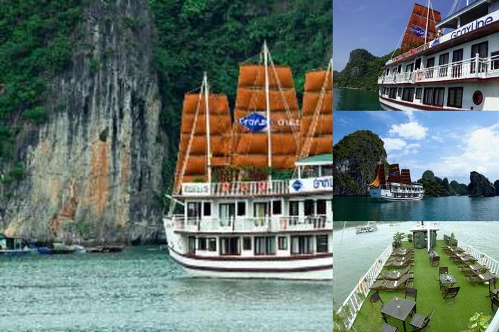 Gray Line Halong Cruise photo collage