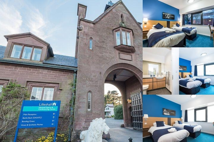 Lilleshall National Sports & Conferencing Centre photo collage