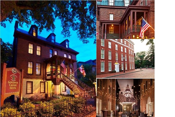 Historic Inns of Annapolis photo collage