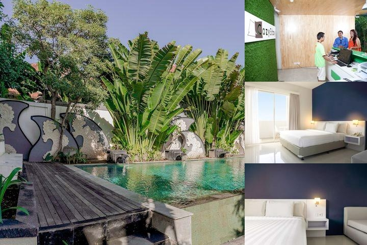 Cozy Stay Bali photo collage