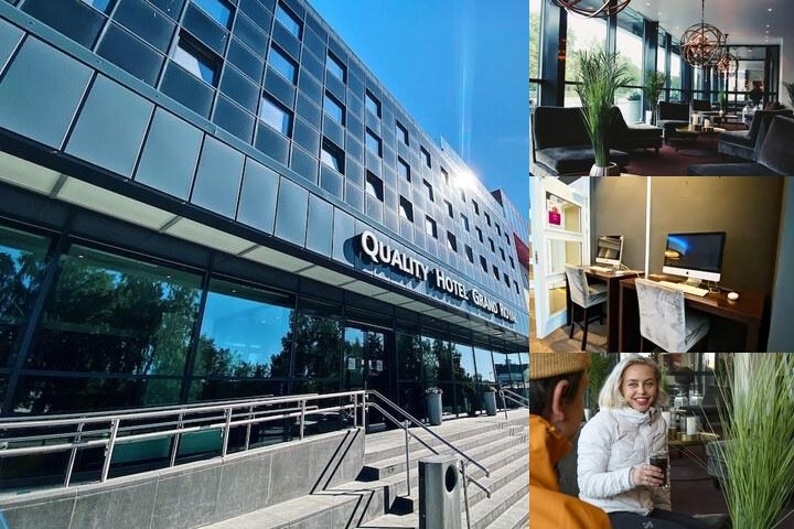 Quality Hotel Grand Royal photo collage