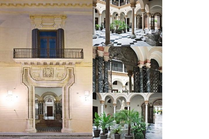 Almasevilla Palacio De Villapanes photo collage