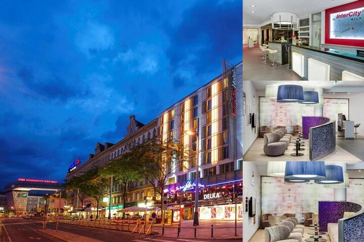 Intercityhotel Wien photo collage