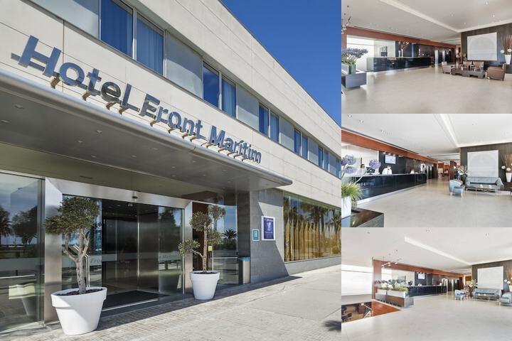 Hotel Front Maritim Barcelona photo collage