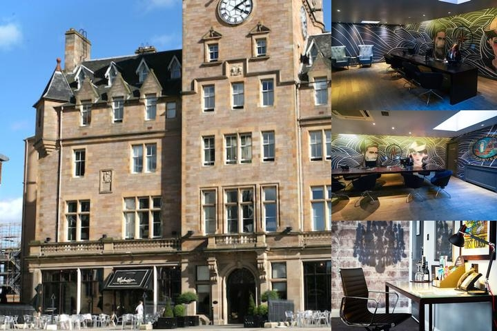 Malmaison Edinburgh Hotel photo collage