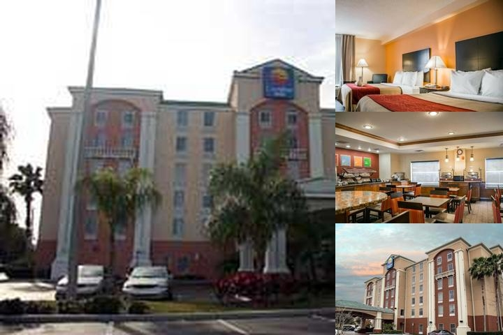 Comfort Inn International photo collage