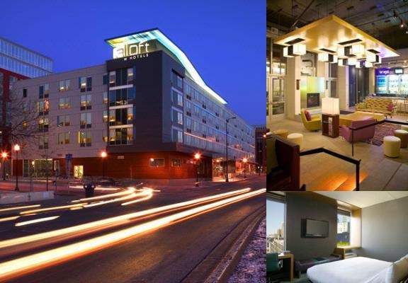 Aloft Minneapolis photo collage
