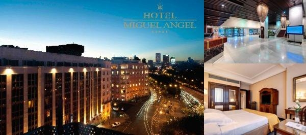 Miguel Angel Hotel & Urban Spa photo collage
