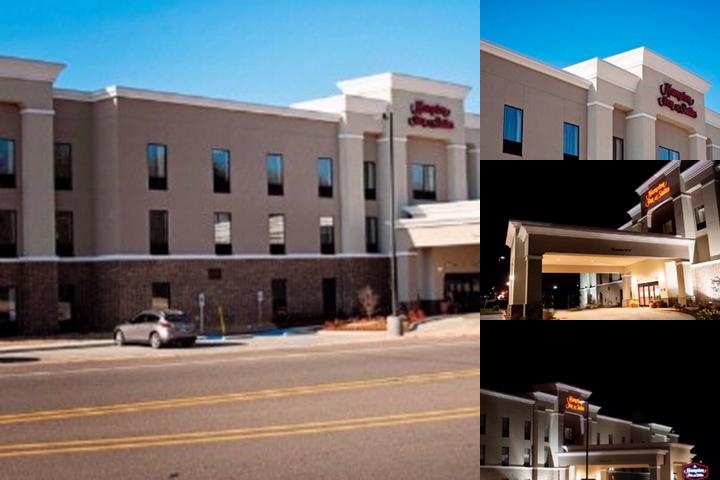 Hampton Inn & Suites Hope photo collage