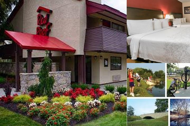 Red Roof Inn Dublin photo collage