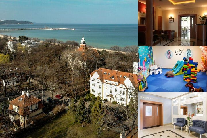 Hotel Villa Baltica photo collage