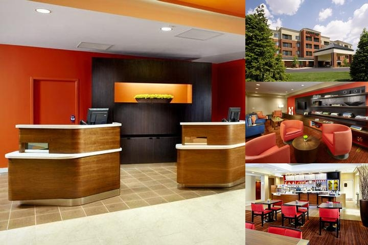 Courtyard Marriott Akron Stow photo collage