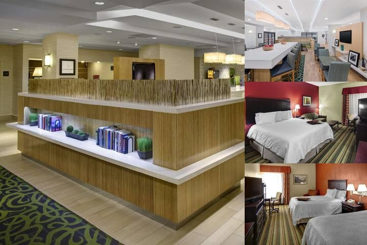 Hampton Inn Richmond Mechanicsville photo collage