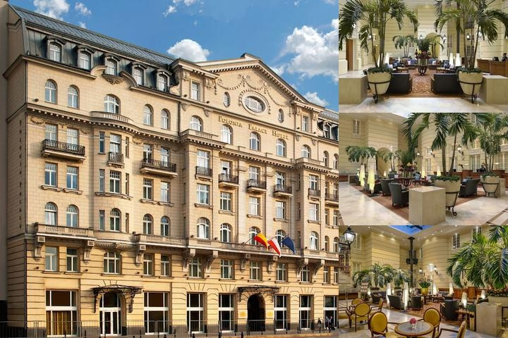 Polonia Palace Hotel photo collage