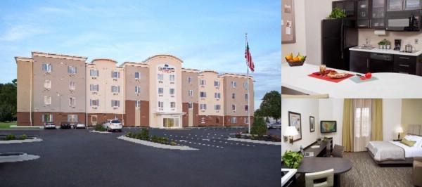 Candlewood Suites North Little Rock photo collage