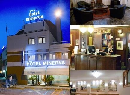 Hotel Minerva photo collage