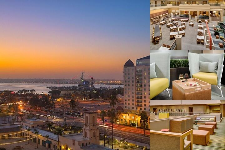 Embassy Suites San Diego Bay Downtown photo collage