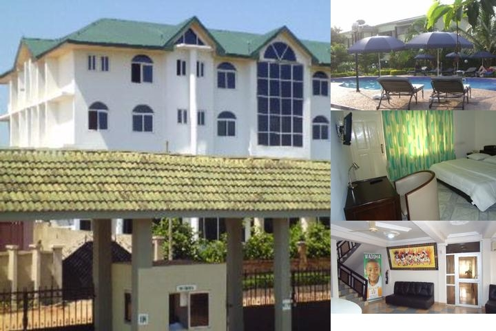 Wadoma Royale Hotel photo collage