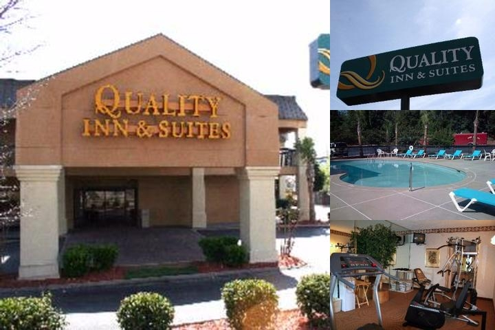 Quality Inn & Suites Entrance