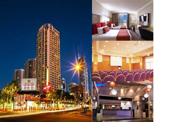 Hotel Grand Chancellor Surfers Paradise Location