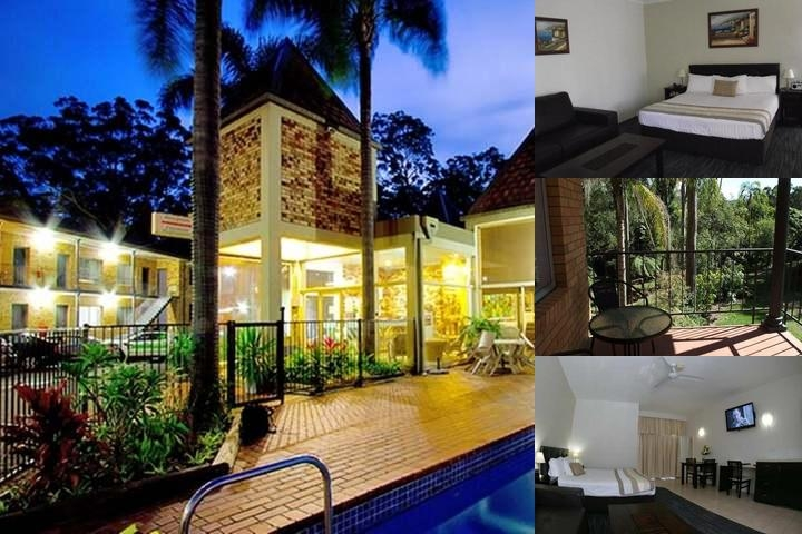Coffs Harbour Sanctuary Resort photo collage