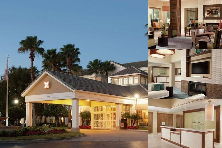 Hilton Garden Inn Orlando Airport photo collage