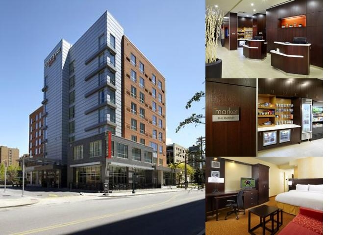 Courtyard by Marriott Cleveland University Circle photo collage