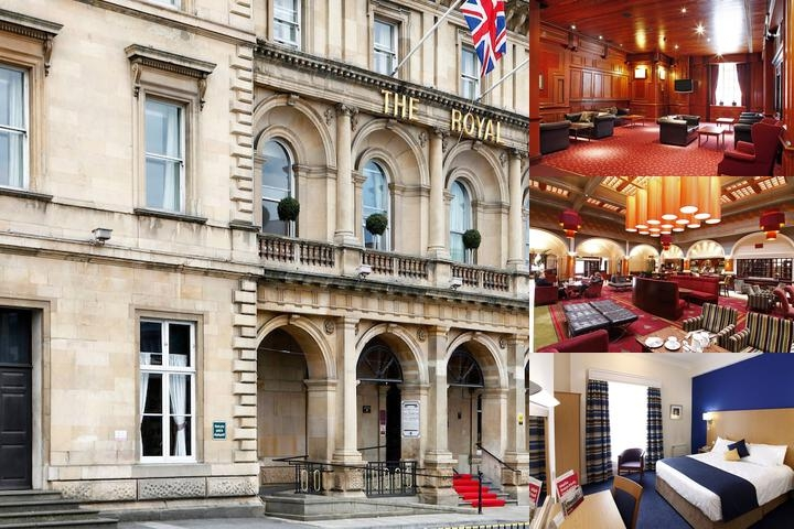 Royal Hotel Hull photo collage