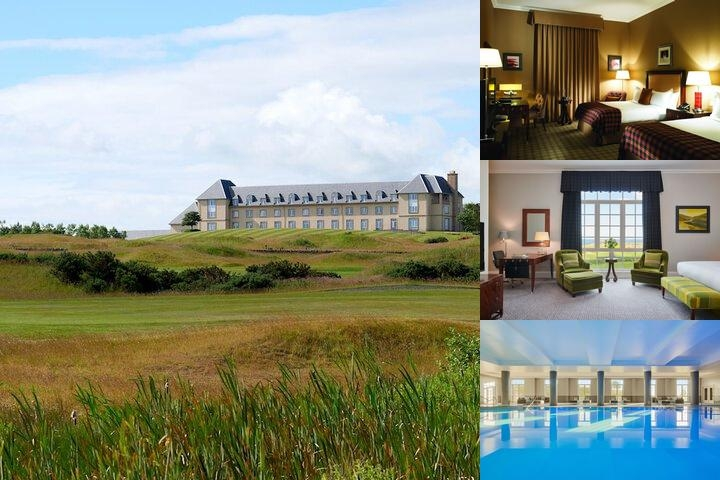 Fairmont St. Andrews Scotland photo collage