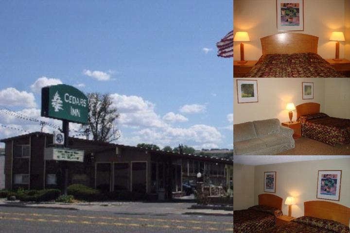 Cedars Inn Lewiston photo collage