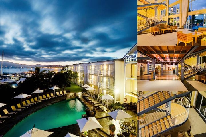 Protea Hotel Knysna Quays photo collage