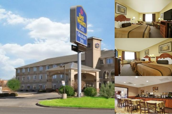 Best Western Plus Graham Inn photo collage