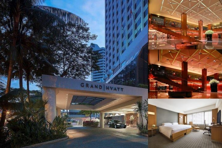 Grand Hyatt Singapore photo collage