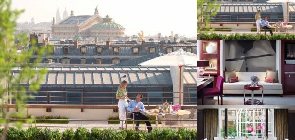 Mandarin Oriental Paris photo collage